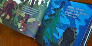 Satukirjan kuvitus, Imatran Hiisi - historiallinen satukirja Imatrasta 2013