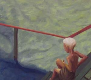 """""""Kaide"""" Öljymaalaus 80 x 126 cm 2012"""