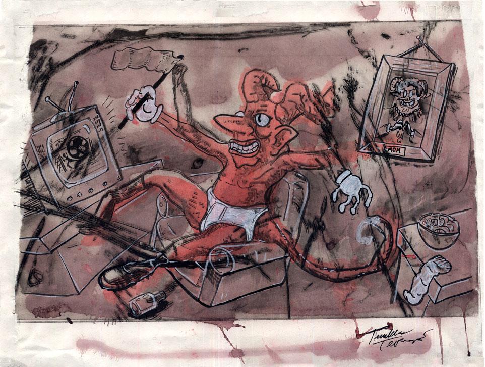Tuukka Teponoja - Punaisen Pirun Vapaapäivä (L1150)